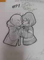 Doodle in class: Frans by chichicherry123