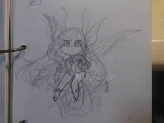 OC idea sketch by chichicherry123