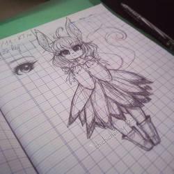 [Doodle] Random furry char 02 by chichicherry123