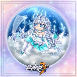 Winter Princess - Snow Glass ball Contest by chichicherry123