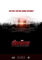 Avengers - Age of Ultron Fan Poster 2 by dDsign