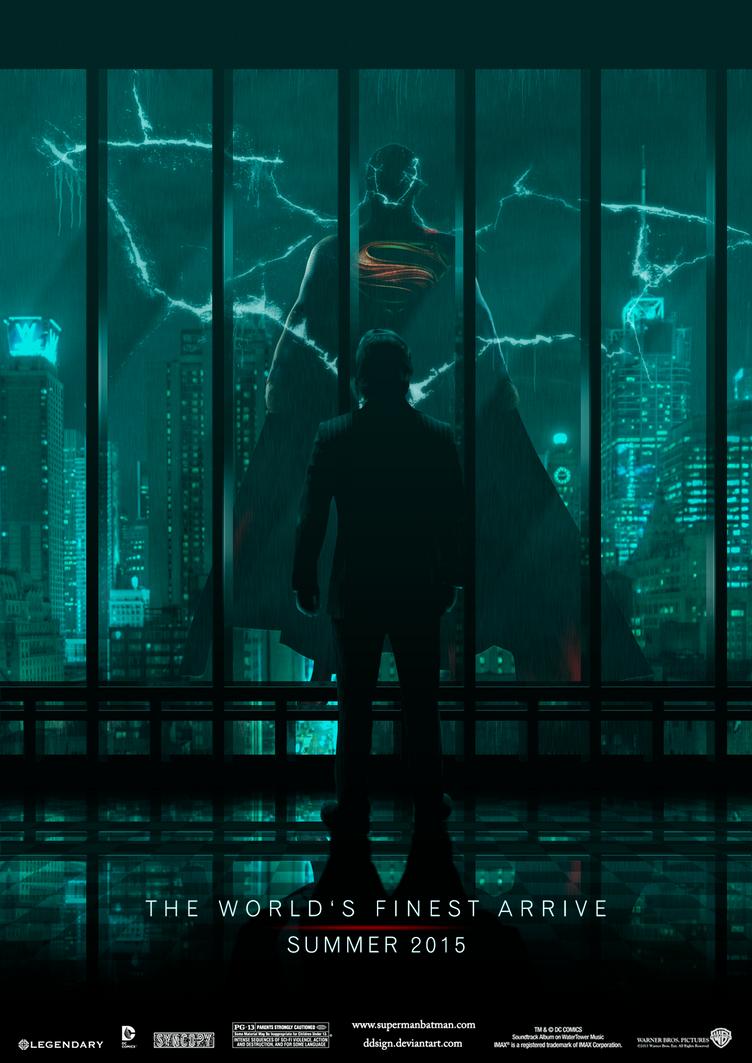 Superman/Batman - World's Finest - Poster (1.0) by dDsign
