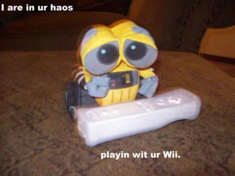 lolWall-E - Wii by MewPika