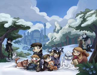 A Game of Thrones by VegaNya