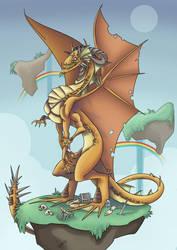 Dragon Orange by VegaNya