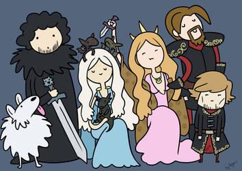 Time of game of thrones! by VegaNya