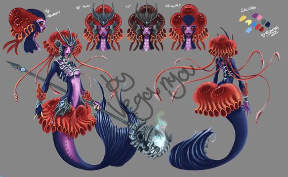 Skin Abyssal Queen Nami by VegaNya