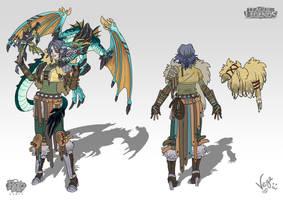 Quinn Dragons Trainer by VegaNya
