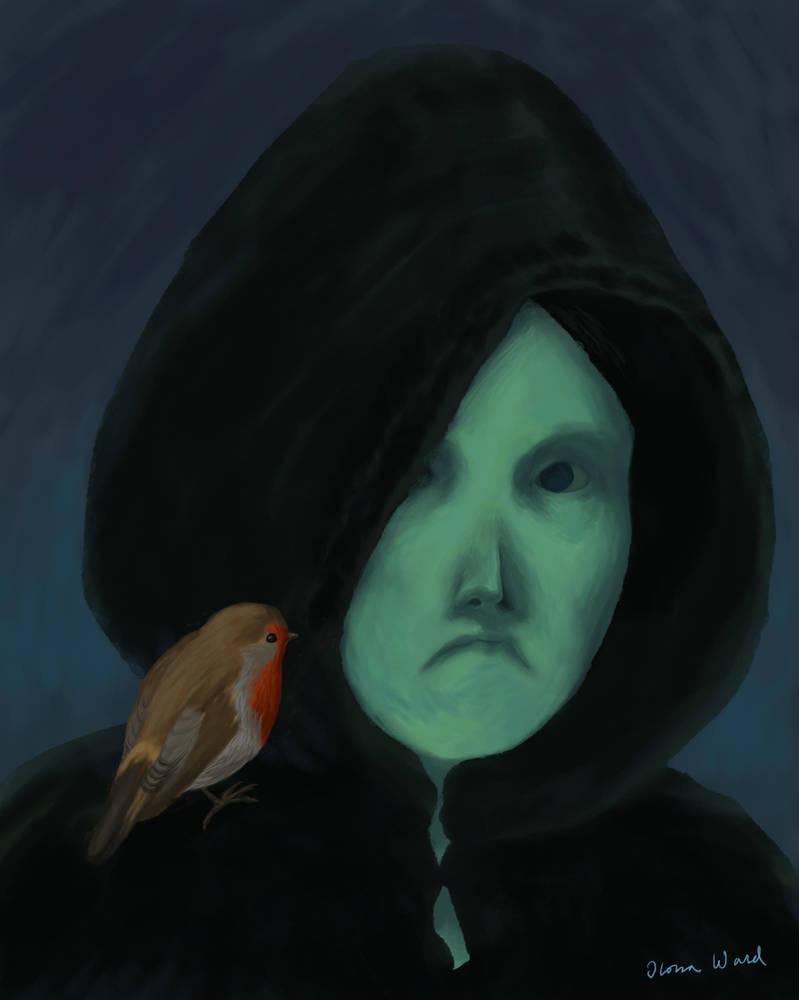 Hooded Figure by Seeeks