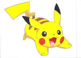 Pikachu by Azure-Dragon-Seiryu