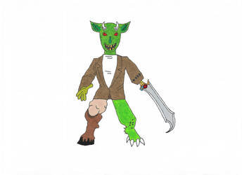 Monster by Azure-Dragon-Seiryu