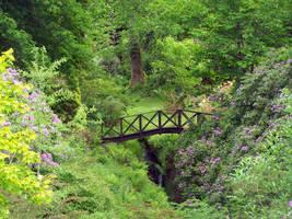 Gardenbridge Stock by little-stock