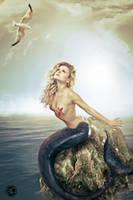 sirena (mermaid) : volare by girasart