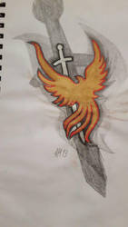 old stuff Phoenix by FFF13