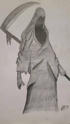 death  old stuff drawing  by FFF13