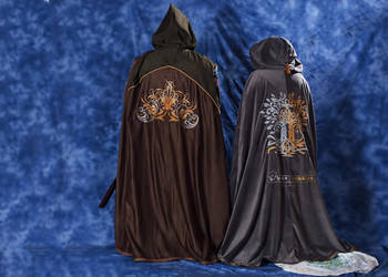 Back view of capes by TalysinTamberlae