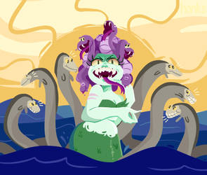 Cuphead ::: Cala Maria Phase 2 by h0nks