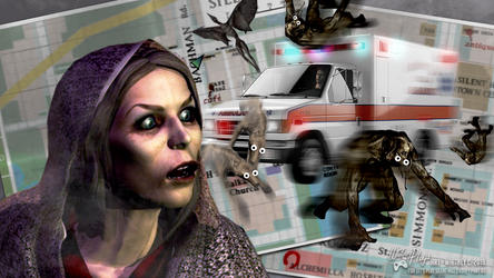 Silent Hill Ambulance Ending Joke Image by whitneyc