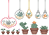Teeny Plants by PastellPrince