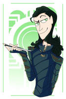 Loki Laufeyson Fanart by remingtomii