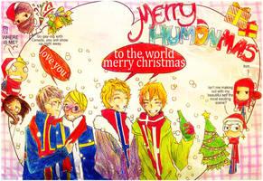 Merry Humon-Mas by handsomedara