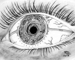 A Clockwork Eye by Sux2BeMe