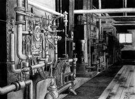 Steam Plant by Sux2BeMe