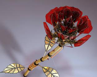 Clockwork Rose by Sux2BeMe