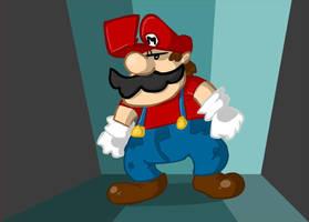 Mario Doodle by nasakii