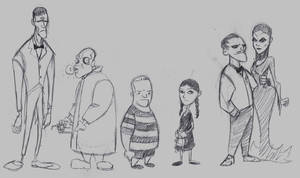 Addams Family by hugbees