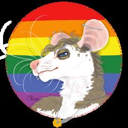 Pride Rat by Rareaji
