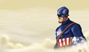 Captain retro style by Hesstoons