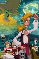 Curse of Monkey Island promo by Hesstoons
