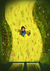 Dorothy of Oz sketch work by Hesstoons
