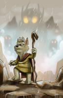 Monsters in the mist by Hesstoons