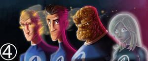 Fantastic4 by Hesstoons