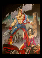 Army of Darkness Moc poster by Hesstoons