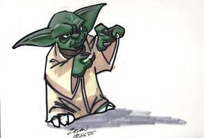 Yoda sketch by Hesstoons