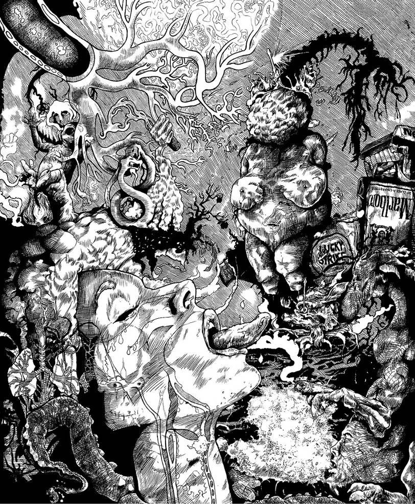 Dendrites 933 X 1132 Px by geshurite