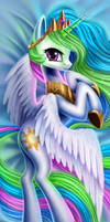 [Commission] Celestia dakimakura2 by AdagioString