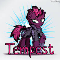 [Commission] Tempest Shadow by AdagioString