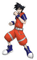 Kingdom Hearts - Goku by Kinoichi