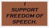Freedom Of Speech by Nighty-Teh-Otter