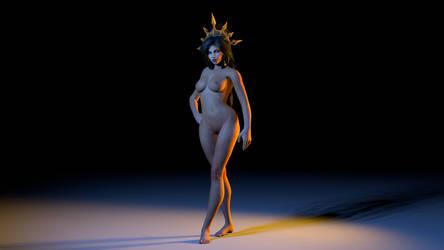 Li-ming nude by iloveliming