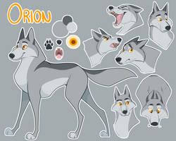 Orion Ref Sheet by kaleidoscopial