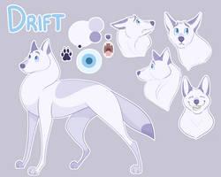 Drift Ref Sheet by kaleidoscopial
