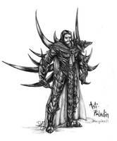 DisciplesII - Anti Paladin by dragonlizzard