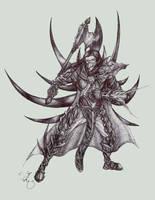 Antipaladin II by dragonlizzard