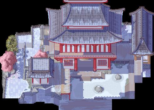 Hanamura Winter Wonderland by PeekyChew