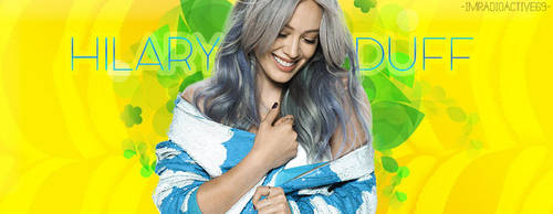 Portada - Hilary Duff by ImRadioactive69